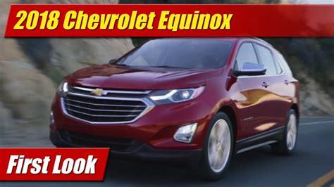 First Look 2018 Chevrolet Equinox Testdriventv