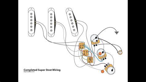 Strat Wiring Diagram by Strat Wiring With 1 Volume 1 Tone
