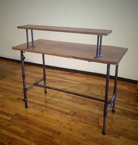 black iron pipe desk 17 best images about desk on pinterest industrial small