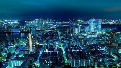 Japan Tokyo Night Lights Wallpapers Cityscape Japanese