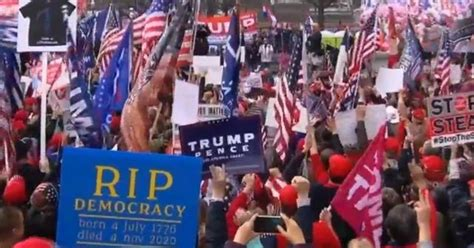 Thousands of Trump supporters rally in Washington, D.C. to ...