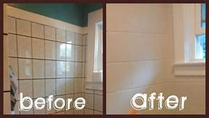500 bathroom makeover in 3 days diy tiles paint tiles With can i paint tile in my bathroom