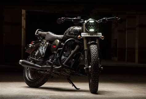 Tvs Classic 4k Wallpapers by Eimor Customs Reveal The Royal Enfield Bullet Yoddha