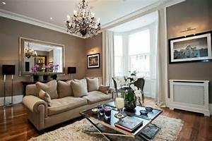 idee deco salon de style anglais pour atmosphere elegante With decoration bureau style anglais