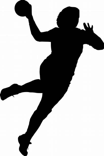Silhouette Handball Clipart Transparent Squash Sports Sport