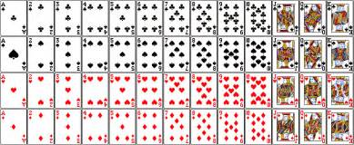How Many Hearts Are In A Deck by Playing Card Frequencies