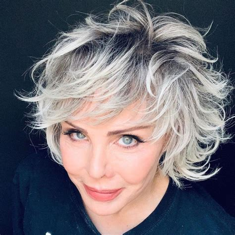 The ability to age with style has always been gaining admiration, and choosing the right hairstyle is key to creating such an image. 20 Best Short Hairstyles For Women Over 50 - Petanouva