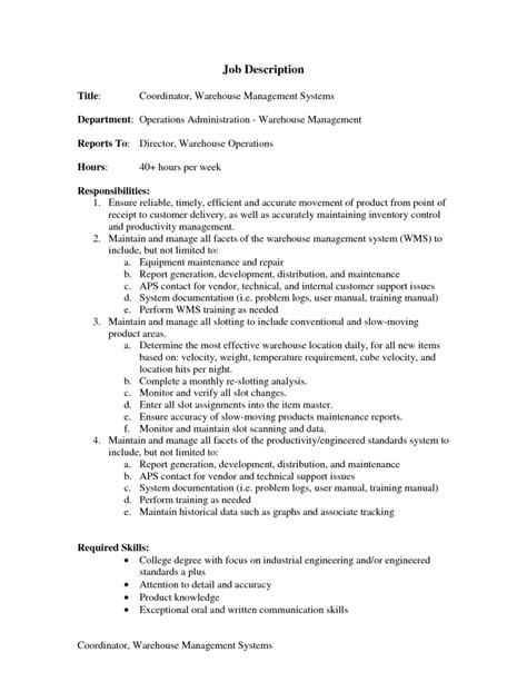 Packer Description For Resume by Create My Cover Letter Cover Letter Exles 2017 Exle