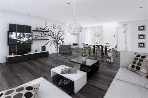 white home interior design black white interiors