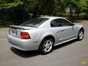 2002 Satin Silver Metallic Ford Mustang V6 Coupe #48981386 | GTCarLot.com - Car Color Galleries