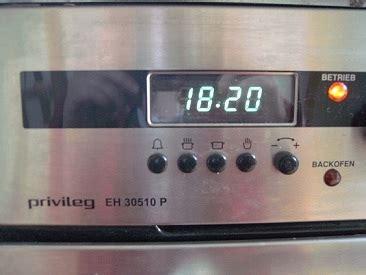 Uhr Einstellen Aeg Herd Haushaltsgeräte
