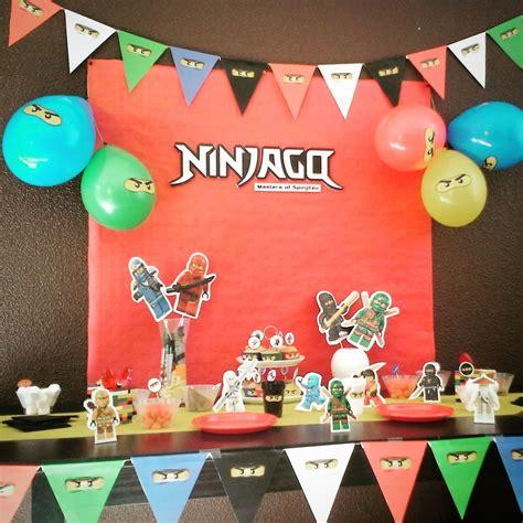 anniversaire de ninjago  ans anniversaire garcon