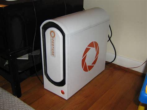 portal replica dos computadores da aperture science