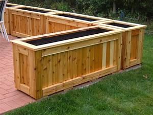Patio planters - by John @ LumberJocks com ~ woodworking