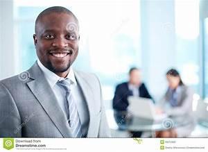 Handsome Leader Stock Image