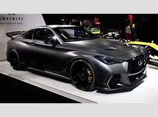 Infiniti Project Black S incorporates Formula 1 tech for
