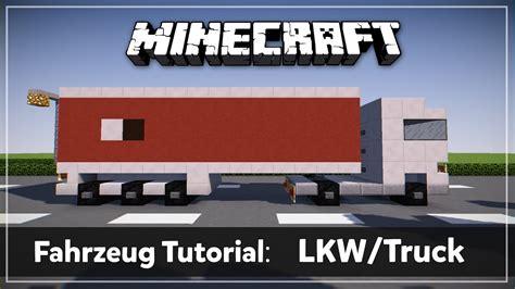 minecraft truck stop minecraft lkw truck tutorial thorktube youtube