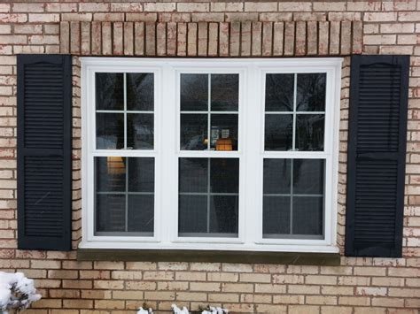 double hung windows  grids integrity windows