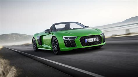Audi R8 Spyder V10 Plus Is Brand's Fastest Convertible