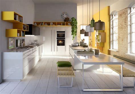 cuisine color notre sélection de cuisines de rêve décoration