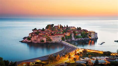 sveti stefan montenegro adriatic sea wallpaperscom