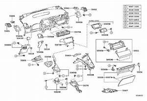 Toyota Prius Register  Instrument Panel  No  1  Mist Gray