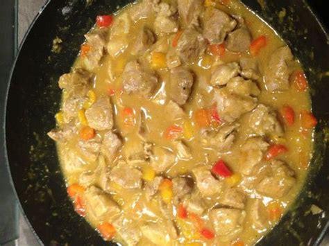 cuisiner un sauté de porc sauté de porc au colombo recette de sauté de porc au