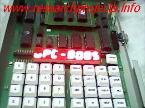 microprocessor mini project traffic light doovi