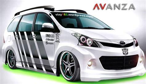 modifikasi mobil toyota avanza putih ceper toyota scion lexus cars toyota and