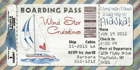 segelboot bordkarte einladung fuer hochzeit geburtstag