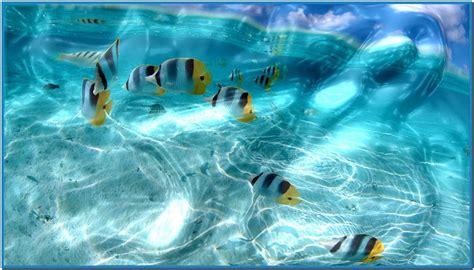 water desktop screensaver