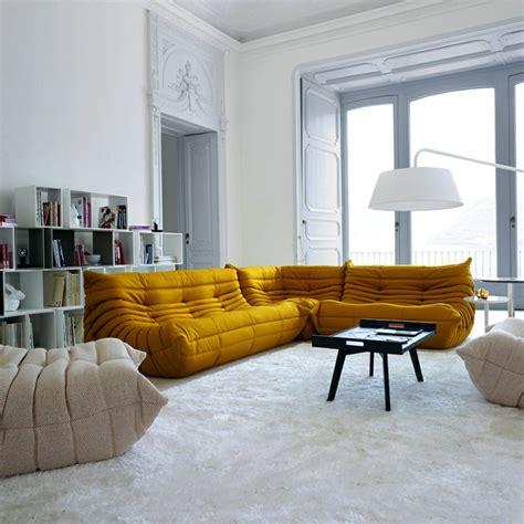 les beaux decors avec le canape togo legendaire archzinefr