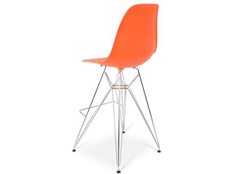 chaise de bar orange chaise de bar dsr orange