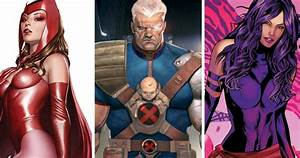 X-Men: Apocalypse May Include Scarlet Witch, Cable and ...