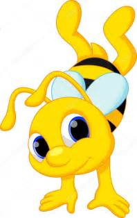 Cute Cartoon Baby Bee
