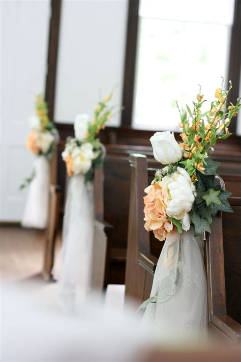 Church Decorations For Small Country Church Wedding In