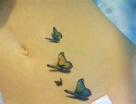 Tatouage Ephemere Papillon