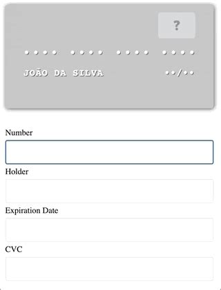 It makes the buying experience enjoyable and offers unbound ease to users. GitHub - hildorjr/vue-ccard: A Vue.js component that displays a reactive credit card preview for ...