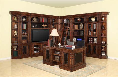 Parker House Leonardo Library Wall Unit Bookcase Set 4 Ph