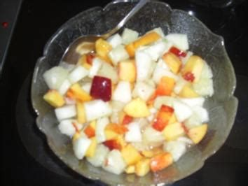 obstsalat mit kokosmilch und melone rezepte kochbarde