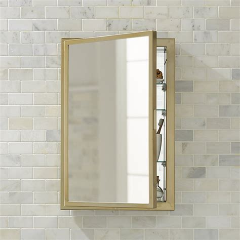 Bathroom Medicine Cabinet Mirrors by Beau Small Antique Brass Medicine Cabinet In 2019