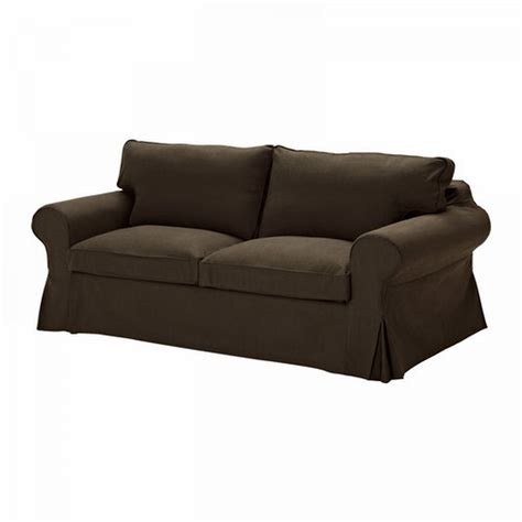 Ikea Ektorp Sofa Bed Slipcover Sofabed Cover Svanby Brown
