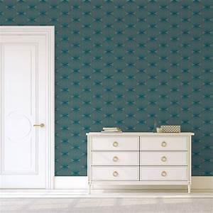 Designer Tapeten Berlin : petrol farbe moderne design tapete grafic pompoms gmm ~ Markanthonyermac.com Haus und Dekorationen