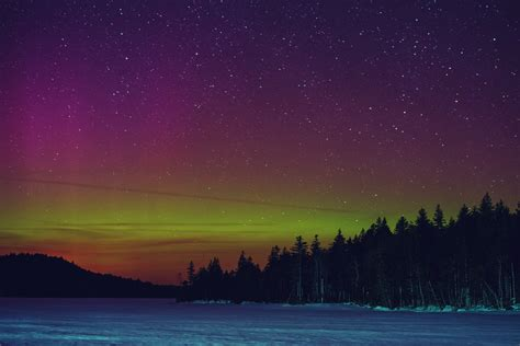 northern lights nova scotia northern lights in canada are stunning from province to