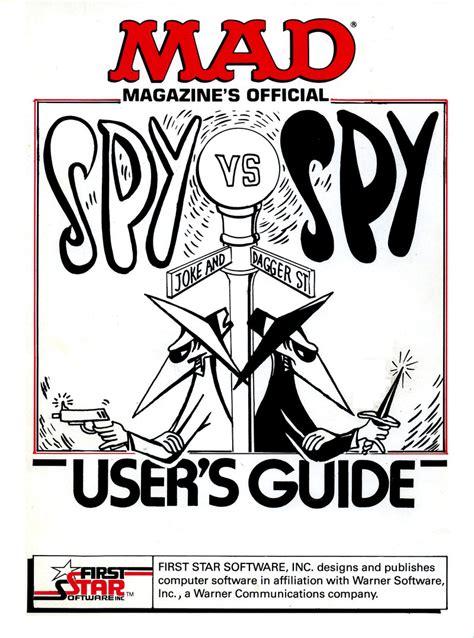 Atari 400 800 XL XE Spy vs. Spy : scans, dump, download ...
