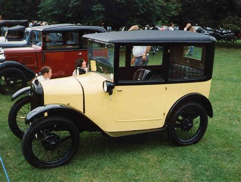 Austin 7 Box Saloon