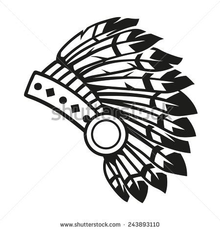 Indian Headdress Template by Indian Wolf Headdress Coloring Pages