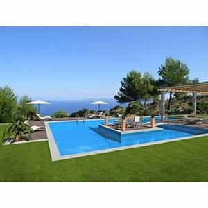 installer du gazon synthetique au bord de sa piscine With gazon synthetique autour d une piscine