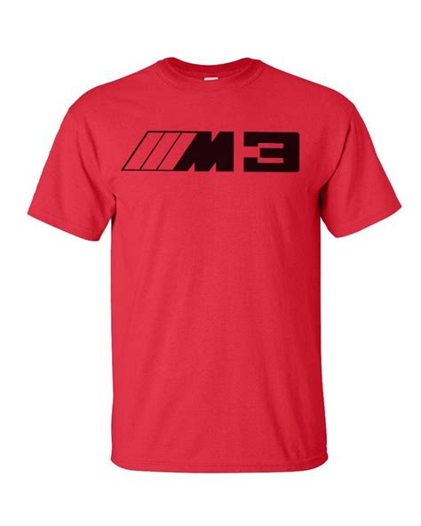 Red Bmw M3 T Shirt M Power M5 Drift E90 Rally E60 E46 E36