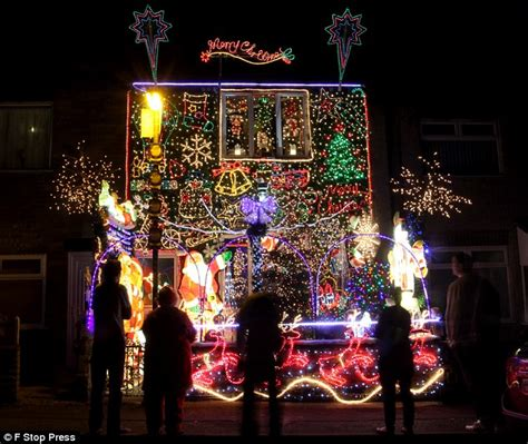 electrician transforms home   real life lightshow